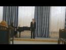 Арія Son tutta duolo Alessandro Scarlatti, Українська народна пісня Ой не шуми,луже, зелений байраче обробка М.Лисенка