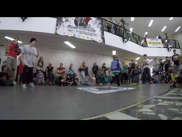 BE Y. OURSEL. F DANCE CHAMPIONSHIP3vs 3 Dominant crew vs Power move Kids18final