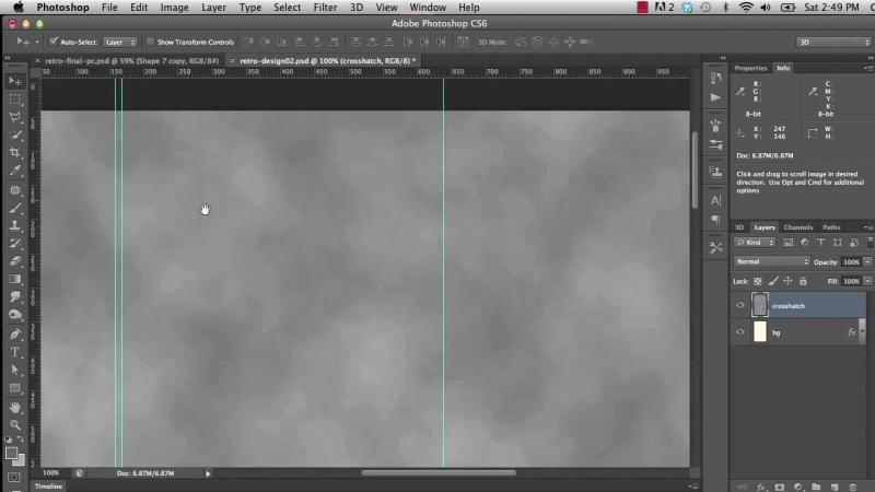 01 04. Creating a Reusable Crosshatch Texture