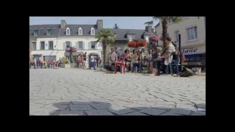 Tuba Skinny Live in Chateauneuf Du Faou 26th July 2014
