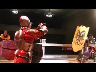 Oswald zu Rudel vs Gemfri de Bohun (mace)