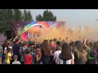 4)Фестиваль красок №1 - Запуск краски из огнетушителя  (Нижнекамск)