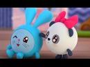 Малышарики - Мяу Гав! Как говорят животные😺 - серия 65 - обучающие мультфильмы для малышей 0-4