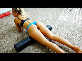 Sexy Bikini Model's Favorite Home Exercises
