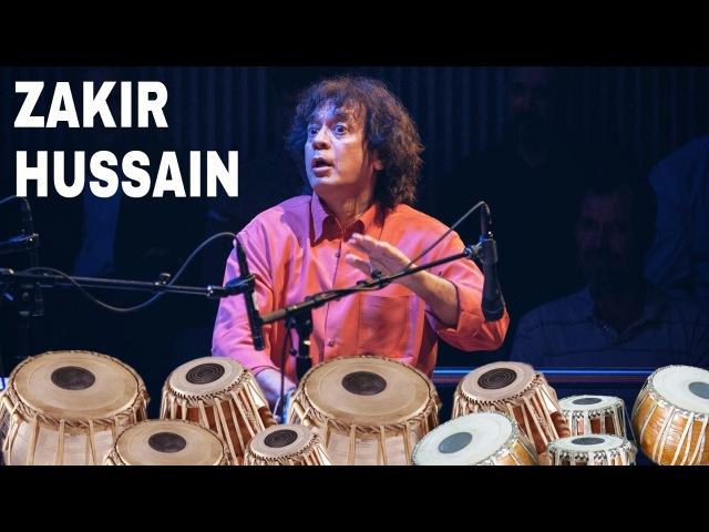 USTAAD ZAKIR HUSSAIN Playing set of TABLA'S