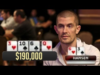 Gus Hansen Had WHAT?! Disguised Hand Builds A Massive Pot