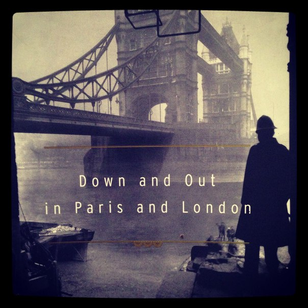 1933 Down And Out In Paris And London