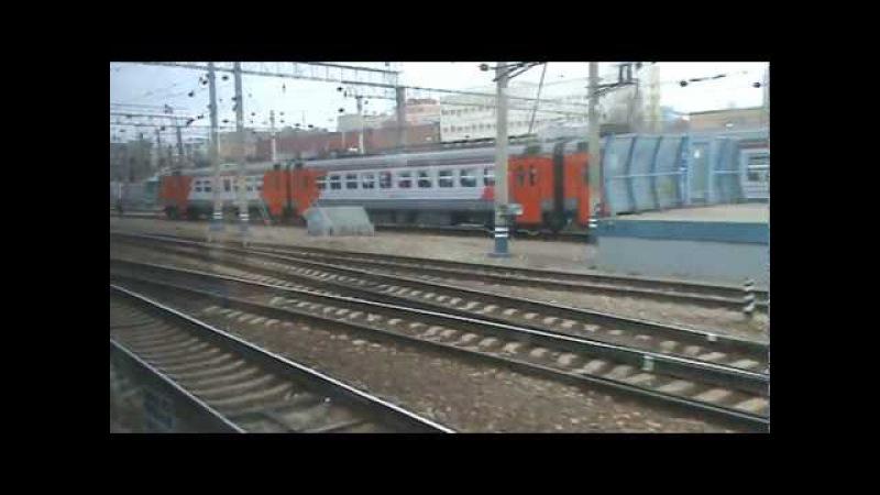 От Ярославского вокзала до станции Москва-3 на ЭД4М-0251