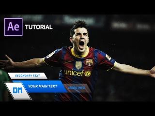 Create Sporty Lower Thirds in After Effects - Complete After Effects Tutorial