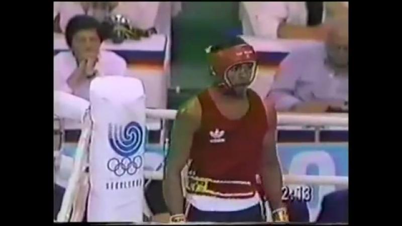 Рой Джонс - Евгений Зайцев. Олимпиада - 88