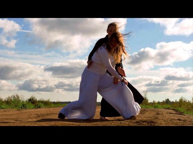 Aikido dance improvisation on the way...)) спонтанный танец в потоке странствий