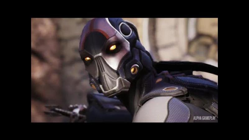 Paragon - Kallari Hero Abilities - Gameplay Video | PS4
