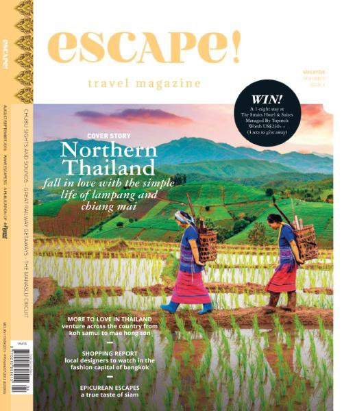 escape Malaysia August September 2016