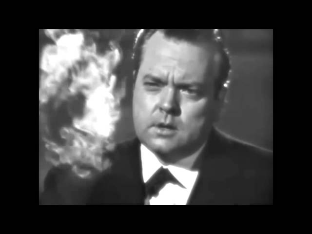 Orson Welles talks about CITIZEN KANE in 11 minute 1960 interview