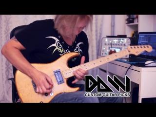 Медиаторы daw man. custom guitar picks