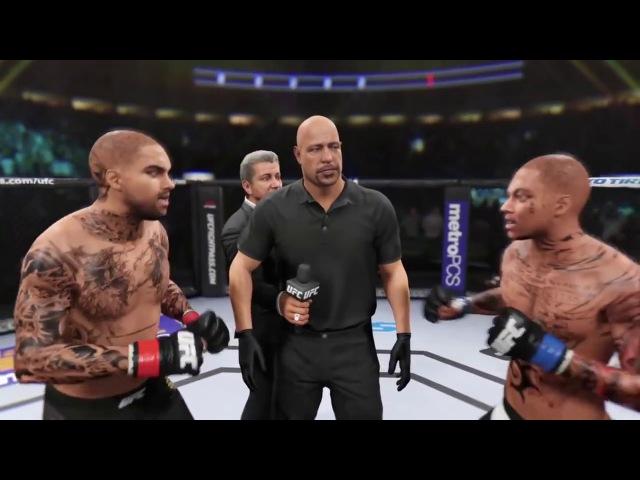 Chris Brown Vs Soulja Boy UFC