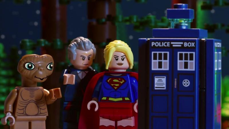 Супергел встречает E.T. Доктора