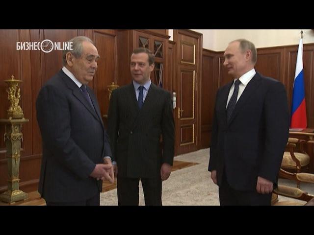 Путин подарил карту Тартарии Шаймиеву [Прошлое Руси]