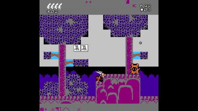 Asterix NES Как идет игра на эмуляторе FCEUX 2 1 5 win32