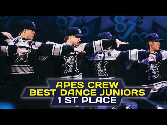 Apes Crew 1st Place Juniors @ RDF16 ✪ Project818 Russian Dance Festival 2016