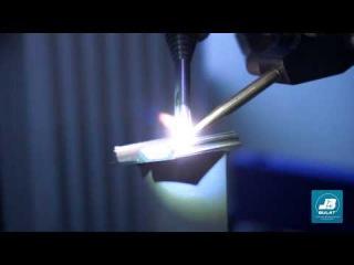 Лазерная наплавка - Ремонт лопаток авиационных двигателей в автоматическом режиме OKB BULAT
