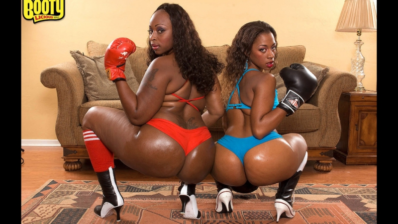 Bootylicious Ms Juicy and Skyy Black (порно big ass tits bbw pawg chubby