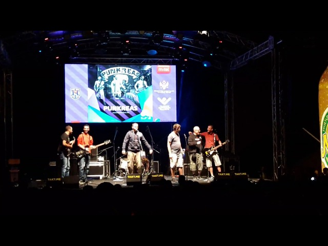 PUNKREAS ft Gary Meskil PRO PAIN Terpentin Böhse Onkelz cover @Bedem Fest 2017