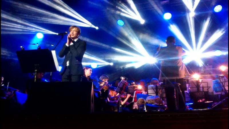 БИ 2 Её глаза Где то ангелы кричат Ростов на Дону концерт с симфоническим оркестром