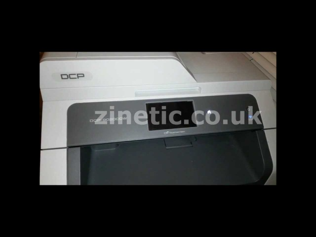 How to reset the BROTHER DCP 9020CDW toner cartridge via the printer's menu Download