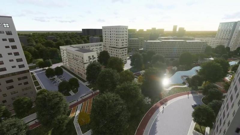 АО Моспроект Гинзбург Архитектс конкурсный проект реновации пр т Вернадского