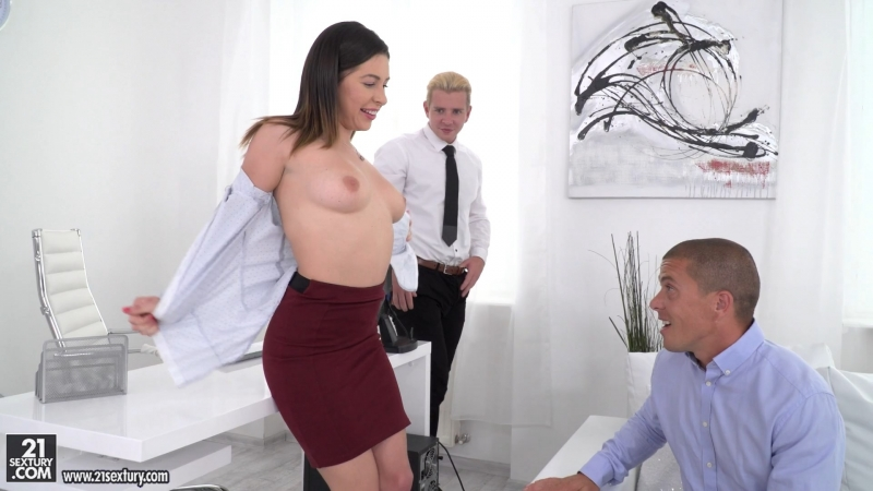 Ally Breelsen ( Employee Of The Month) 2017, Anal Sex, Double Penetration, HD