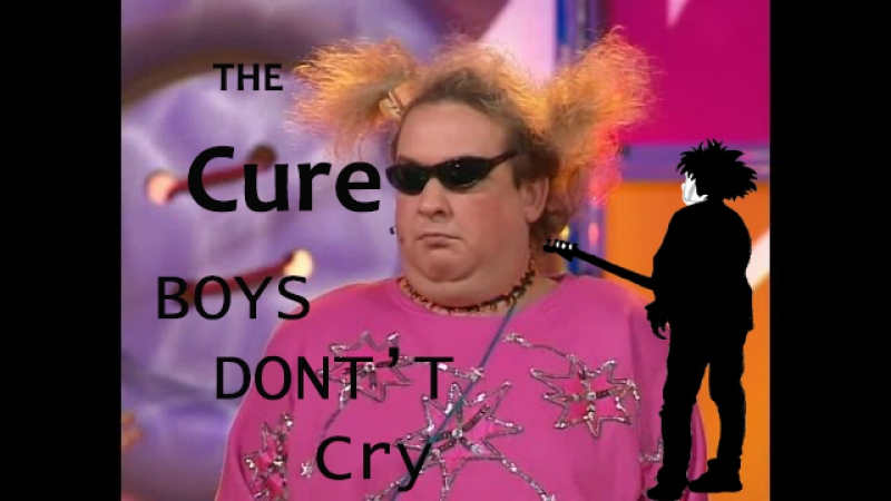 The Cure Boys Don't Cry RUS COVER