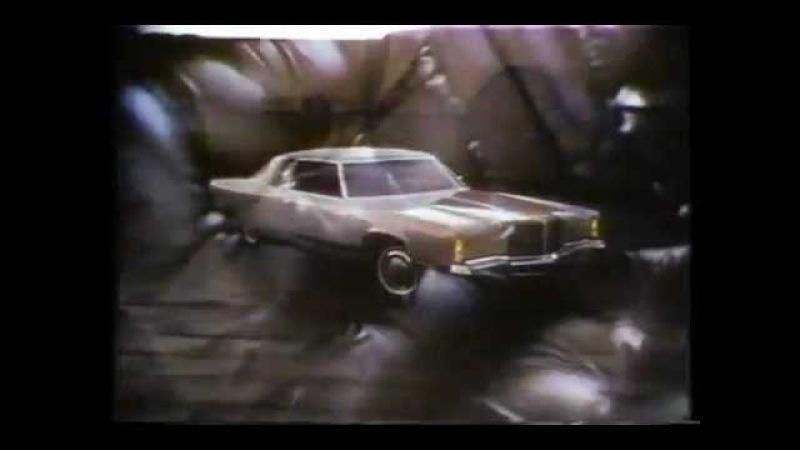 1975 Imperial Lebaron Chrysler New Yorker Brougham Chrysler Cordoba Commercial Richard Basehart