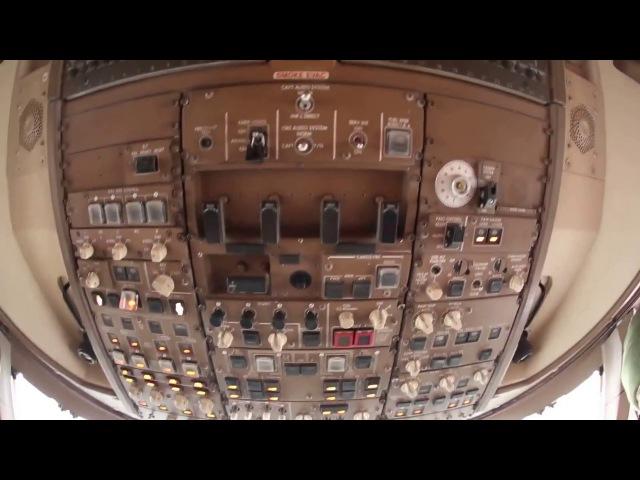 Экскурсия по Боингу 747 Тигролёт авиакомпании Россия
