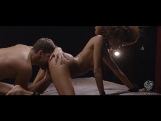 Brazilian ebony beauty luna corazon gets cum on ass in glamcore fetish fuck