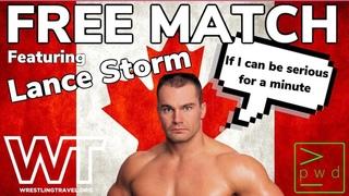 FREE MATCH: Lance Storm vs. Hiroyoshi Yamamoto