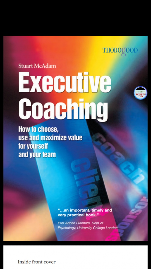 Executive Coaching How to Choose