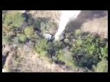 ВСУ сбрасывают снаряды ВОГ-17 на позиции ВС ДНР с беспилотника