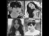 BTS x BLACKPINKTaehyung &amp Jisoo Jungkook &amp Jenni Faded