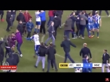 AGUERO Fighting With Wigan Fans At Full Time