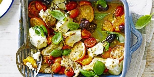 10 очень вкусных салатов со свежими помидорами, изображение №5
