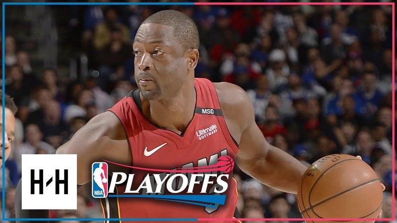 Heat vs. 76ers - Game 2, Round 1 - 2018 NBA Playoffs