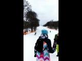 Докатился. Сегодня встал на горные лыжи (первый раз в жизни)