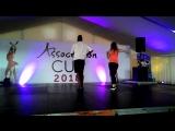 Мастер-класс от Adonis Baez (Cuba), Olga Nebolsina (Russia) (salsa cubana)