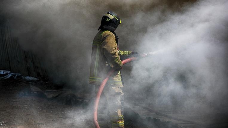 Жилой дом сгорел в Зеленчукской