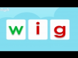Word Families 13- Pig in a Wig - Level 1 - By Little Fox