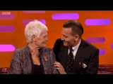 Johnny Depp is talking about Judi Dench, Willy Wonka and Edward Scissorhands The Graham Norton Show