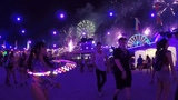 EDC 2018 LED POI HOOP AND JUGGLING AT THE BOOMBOX ART CAR
