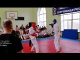 Максим Новожилов-1 место (синий)( 16 17лет, 70 кг). г.Александровск 28 апреля 2018