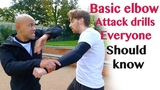 Basic elbow attack drills everyone should know - wing chun